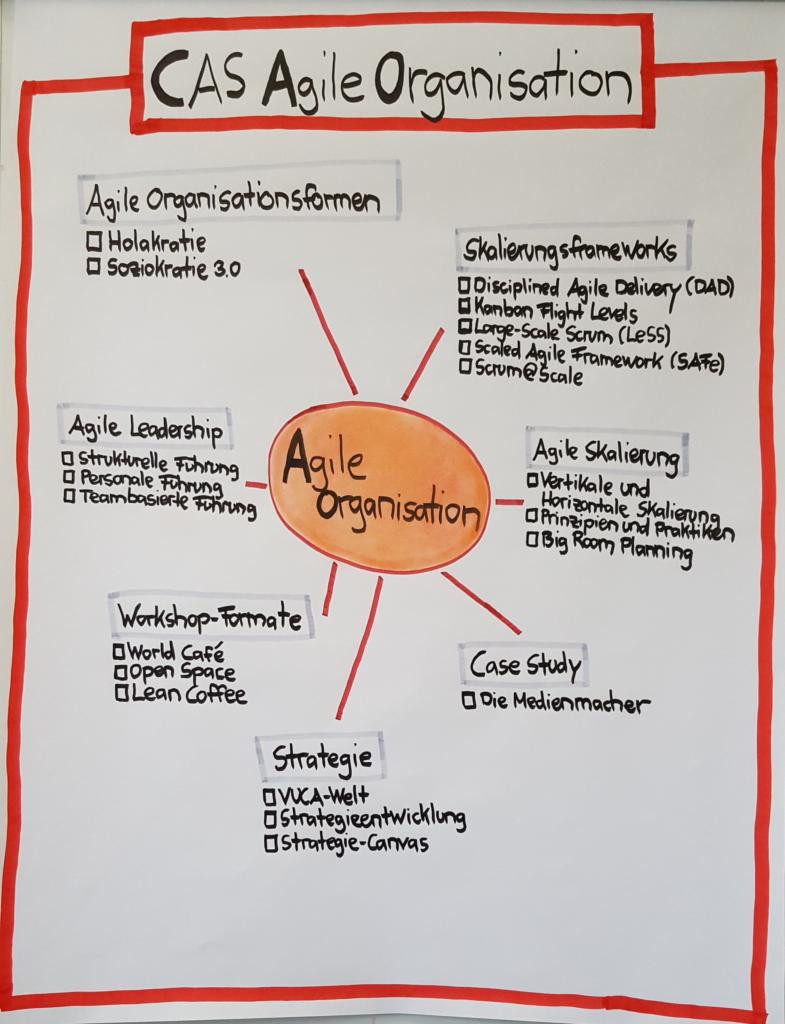 Übersicht Agile Organisation